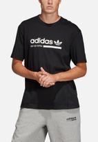 adidas Originals - Kaval short sleeve crew tee - black & white