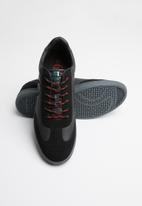 Sergio Tacchini - Round toe GS 180616 sneaker - black & grey