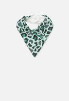 Cotton On - Dribble bib - turquoise