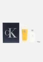 CALVIN KLEIN - Ck1 Edt 50ml & Body Wash 100ml (Parallel Import)