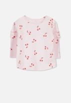 Cotton On - Ginger long sleeve tee - pink