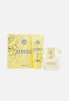 Versace - Versace Yellow Diamond Edt 90ml & B/L 100ml Travel Set Parallel Import