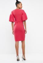 STYLE REPUBLIC - Volume sleeve dress - pink
