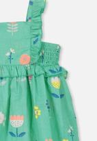 Cotton On - Beth dress - turquoise