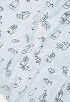 Cotton On - Muslin wraps - white