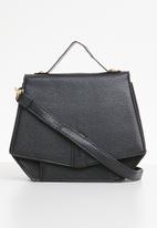Superbalist - Amy hexagon shape bag - black