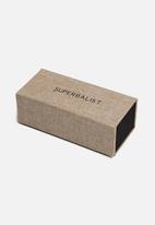 Superbalist - Sunglasses box - beige & black