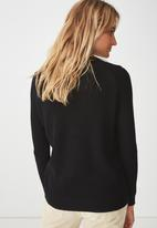 Cotton On - Archy jersey - black