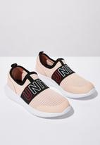 Cotton On - Evolve mesh elastic slip on - pink & black