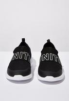 Cotton On - Evolve mesh elastic slip on - black