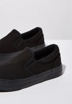 Cotton On - Classic slip on - black