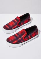 Cotton On - Classic slip on - red