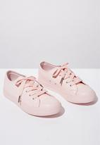 Cotton On - Classic trainer lace-up - pink