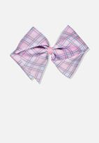 Cotton On - Statement bows - pink & purple