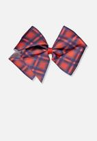 Cotton On - Statement bows - red & navy