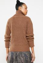 Superbalist - Chunky roll neck - rust