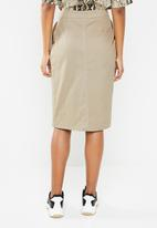 Superbalist - Utility pencil skirt - neutral