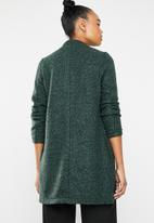 ONLY - Once long sleeve long blazer - green gables