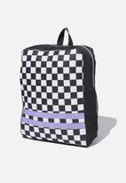 Cotton On - Back to school backpack - black & white