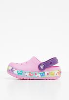 Crocs - Kids butterflyband lights - pink & purple