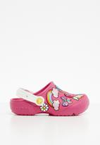 Crocs - Kids crocs playful patches - pink