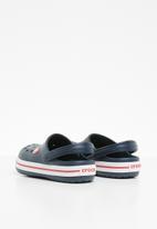 Crocs - Kids crocband clog k - navy & red