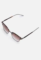 Superbalist - Clubmaster sunglasses - tortoise/brown