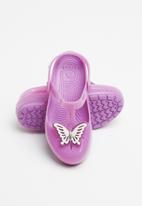Crocs - Kids crocs isabella charm clog k - purple
