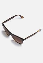 Ray-Ban - Ray-Ban blaze wayfarer sunglasses - brown