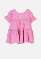 Cotton On - Abby flutter dress - pink