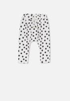 Cotton On - Alison mini pant - white & black