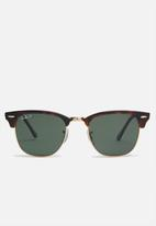 Ray-Ban - Clubmaster sunglasses 51mm - brown