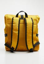 Superbalist - Roll up backpack - yellow