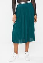 Superbalist - Pleated skirt - green