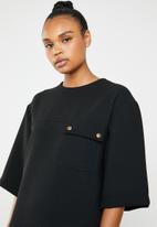 Superbalist - Utility style dress - black