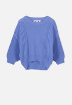 Cotton On - Deonne knit jumper - blue