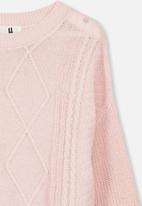 Cotton On - Deonne knit jumper - pink