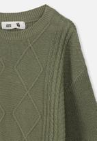 Cotton On - Deonne knit jumper - green