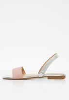 Jada - Double strap sandals - pink