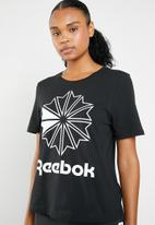 Reebok Classic - AC GR tee - black & white