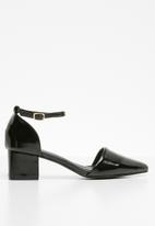 STYLE REPUBLIC - Strappy pointy heel - black