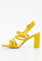 STYLE REPUBLIC - Slingback-heels - yellow