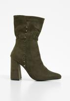 STYLE REPUBLIC - Flaired boot - green