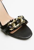 Superbalist - Lily ankle strap heel - black