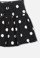 Cotton On - Cilla skirt - black & white