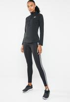 adidas - Zip long sleeve training sweater - black