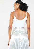 GUESS - Charged up bodysuit - white