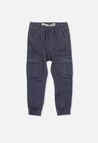 Cotton On - Joe cuffed pant - navy