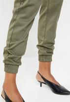 Missguided - Chain cargo trouser - khaki green