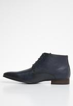 MAZERATA - Magio lace-up boot - navy